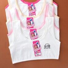 2019 new Wire Free Training bra Kids Girls Underwear Sports Vest Bra young girl Solid cotton underwe