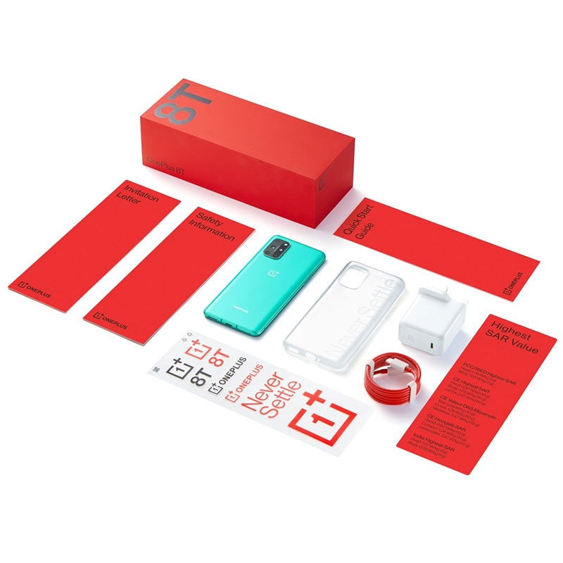 Фото5 - Доставка из РФ OnePlus 8T 5G Смартфоны Snapdragon 865 48MP Камера 120Гц частота обновления  AMOLED дисплей 65 вт быстрая зарядка NFC