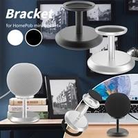 Support de haut-parleur intelligent sans fil  en aluminium et metal  avec coussin en Silicone antiderapant  pour Homepod Mini   g