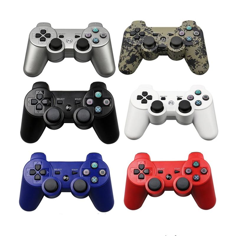 Controlador sem fio bluetooth para sony ps3 gamepad para play station 3 controle remoto joystick para sony playstation 3