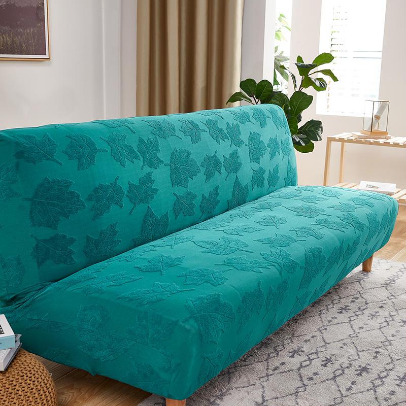 الحديثة سرير أريكة قابلة للطي يغطي لغرفة المعيشة مرونة Armless تشيس غطاء صالة كبيرة 2 3 مقاعد غطاء أريكة فوتون الغلاف