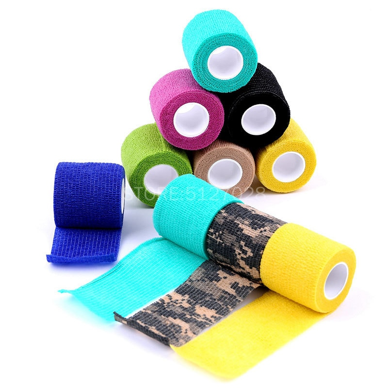 6pcs tattoo self adhesive elastic 5cm wide elbow tattoo handle bandage nail tapes finger protection wrap non slip cloth tape Tattoo Accesories 10pcs Self Adhesive Elastic bandage 5cm Wide Elbow Tattoo Grip Bandage Nail Tapes Sport Protection Wrap