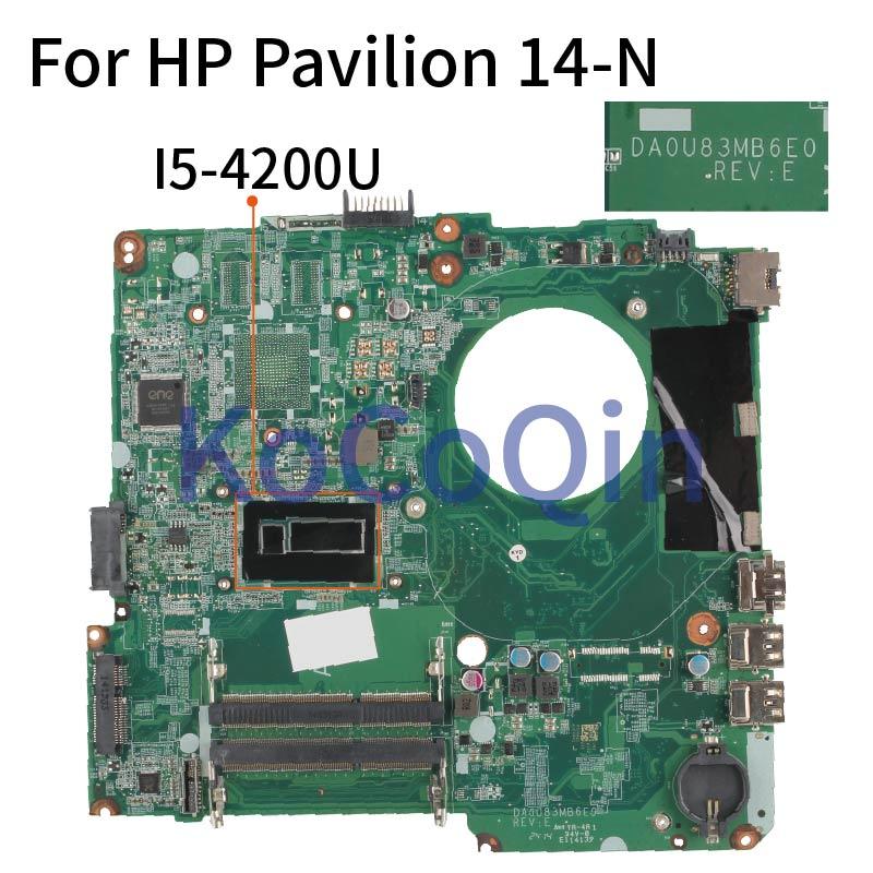 محمول لوحة رئيسية لأجهزة HP بافيليون 14-N 14-F 14