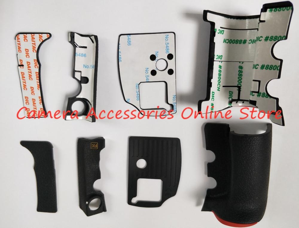 Новинка, оригинальный комплект резиновых чехлов для корпуса, 4 шт., резиновые передние и задние Чехлы для Nikon D810, запасные части для ремонта
