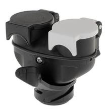 Die Neue durable 13 Pin zu 7 Pin Euro Anhänger Abschleppen Ca-ravan Dual Buchse Stecker Adapter Stecker