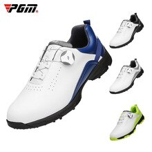 PGM golf shoes men's waterproof shoes non slip spikeless shoes summer breathable men's shoes