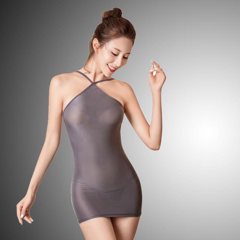 Сексуальное женское блестящее платье в обтяжку с открытой спиной, милое платье-карандаш из прозрачного шелка, микро мини-платье Бандажное п...