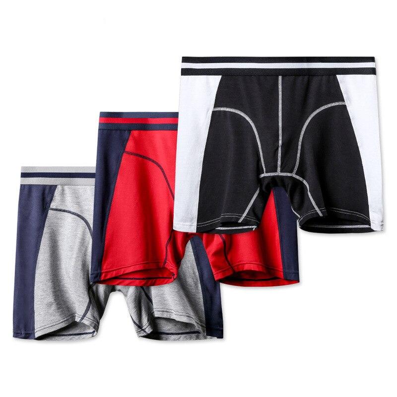 Calzoncillos bóxer de Modal para hombre, ropa interior Sexy, sin costuras, de talla grande
