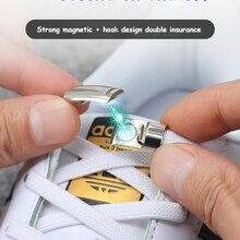 1 paio di lacci per scarpe con chiusura magnetica elastica creativi Quick No Tie lacci per scarpe bambini adulto Unisex lacci per scarpe Sneakers stringhe per scarpe
