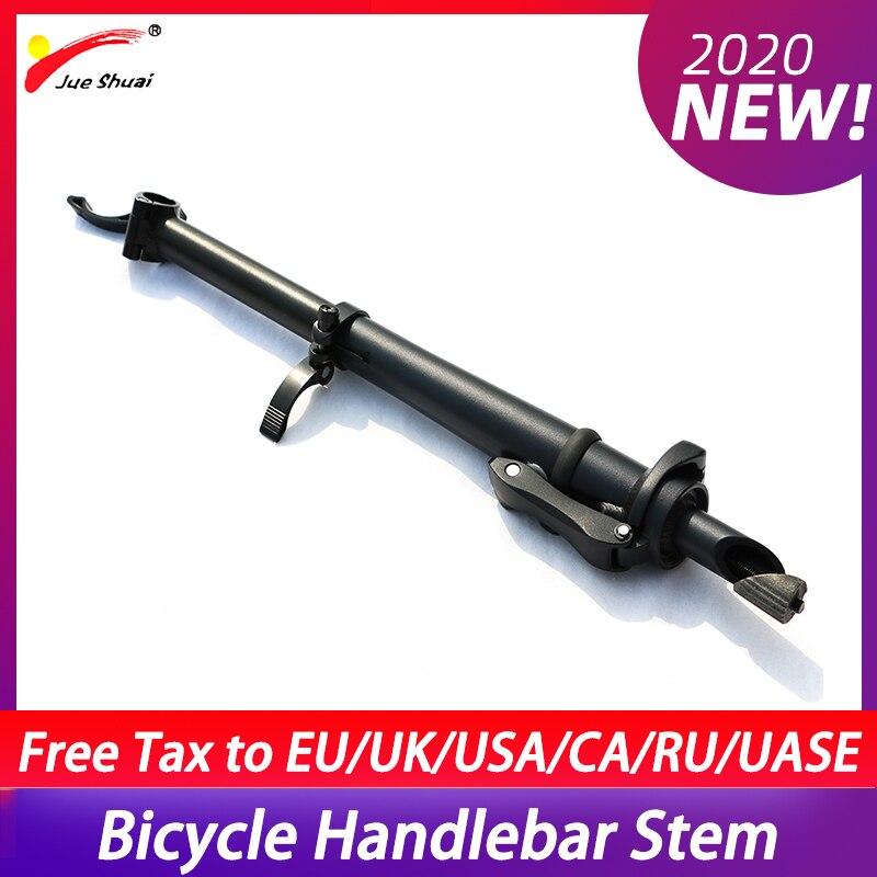 Vástago de manillar de bicicleta plegable de 25,4mm Tubo de cabeza de bicicleta ajustable vástago de manillar de bicicleta de liberación rápida manillar de horquilla frontal manillar de cabeza