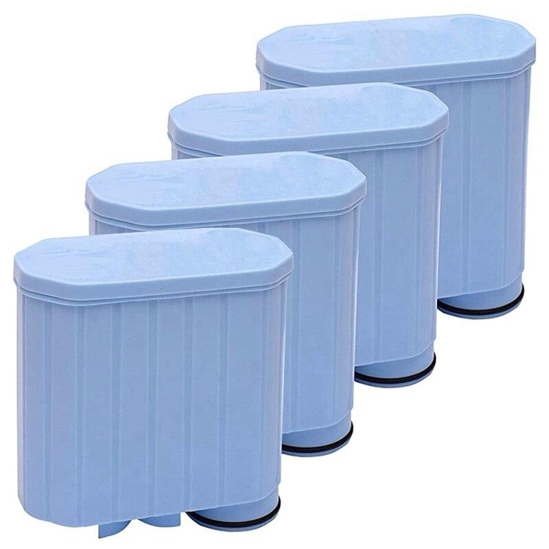 4 مجموعات من فلتر المياه متوافق نظيفة ل Saeco التلقائي بالكامل Ca6903 / 01 أكوا نظيفة مكافحة الجير آلات