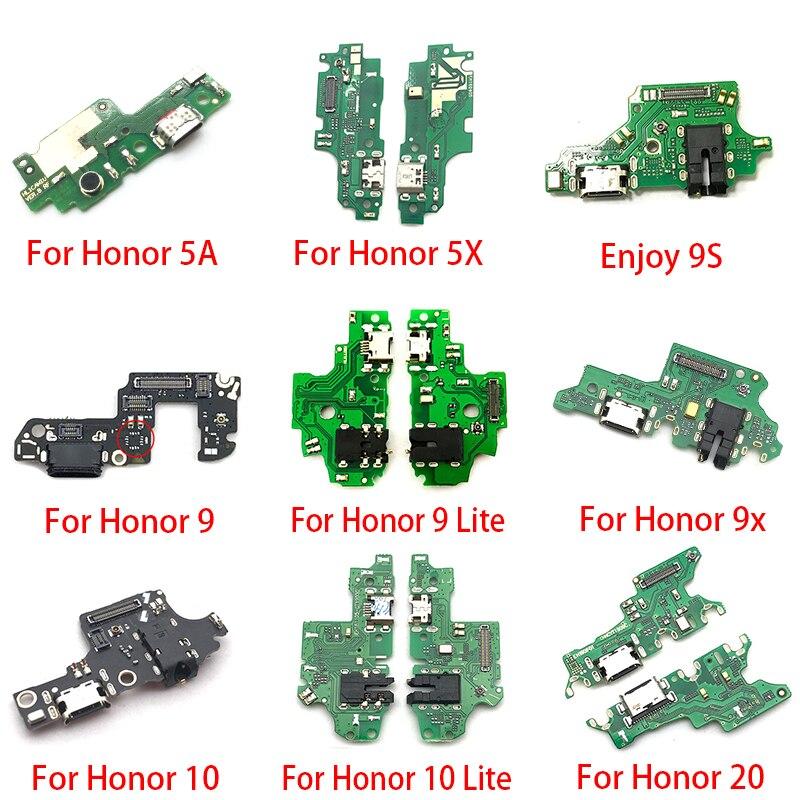 USB טעינת נמל Dock מטען תקע מחבר לוח Flex כבל עבור Huawei Honor 20 פרו 5A 5X 10 9X 8X מקסימום לשחק 8C 8 9 לייט 9S