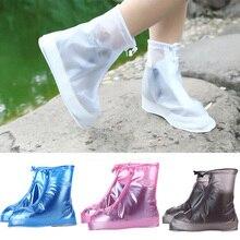 2019 nouvelle mode réutilisable imperméable couvre-chaussures couvre-chaussures unisexe enfants chaussures de pluie couverture protecteur chaussures chaussures de démarrage accessoires