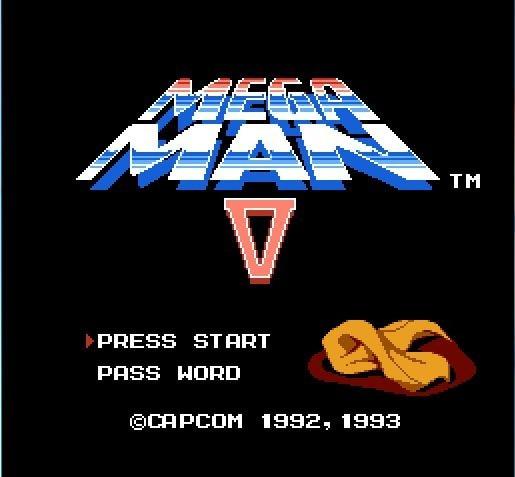 Mega Man 5 V 72 broches 8bit jeu carte livraison directe!