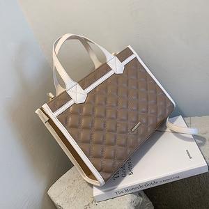 Women's High Quality Leather Handbag Tote Bag Women Shoulder Bag Ol Brand Shopping Bag Fashion Women's Big Tote Bags 2020