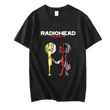 Radiohead The Best of Vintage Rock Band Radiohead T-shirt Hip Hop Unisex T Shirt Music Album Print T