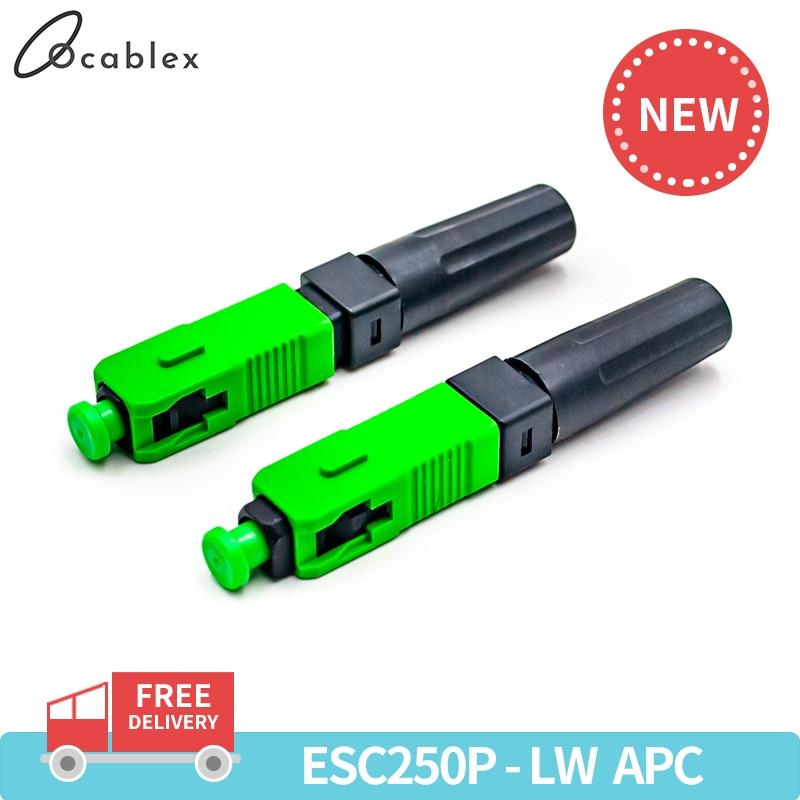 ESC250P-LW SC APC Single-Mode SC APC Optical Fiber quick connector SC Fiber Optic Fast Connector