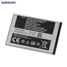 Batterie Dorigine SAMSUNG AB463446BE AB463446BA Pour Samsung X208 B189 B309 F299 GT-E2652 C3300K X160 AB043446BE Batterie 800mAh