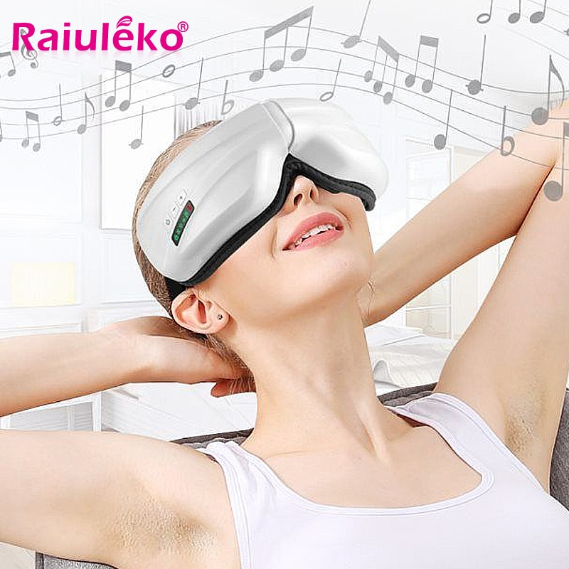 Electric Eye Massager Relieve Fatigue Migraine Anti Myopia Heating Therapy Massage Ease Eye Bag Head Forehead Massager Eyes SPA
