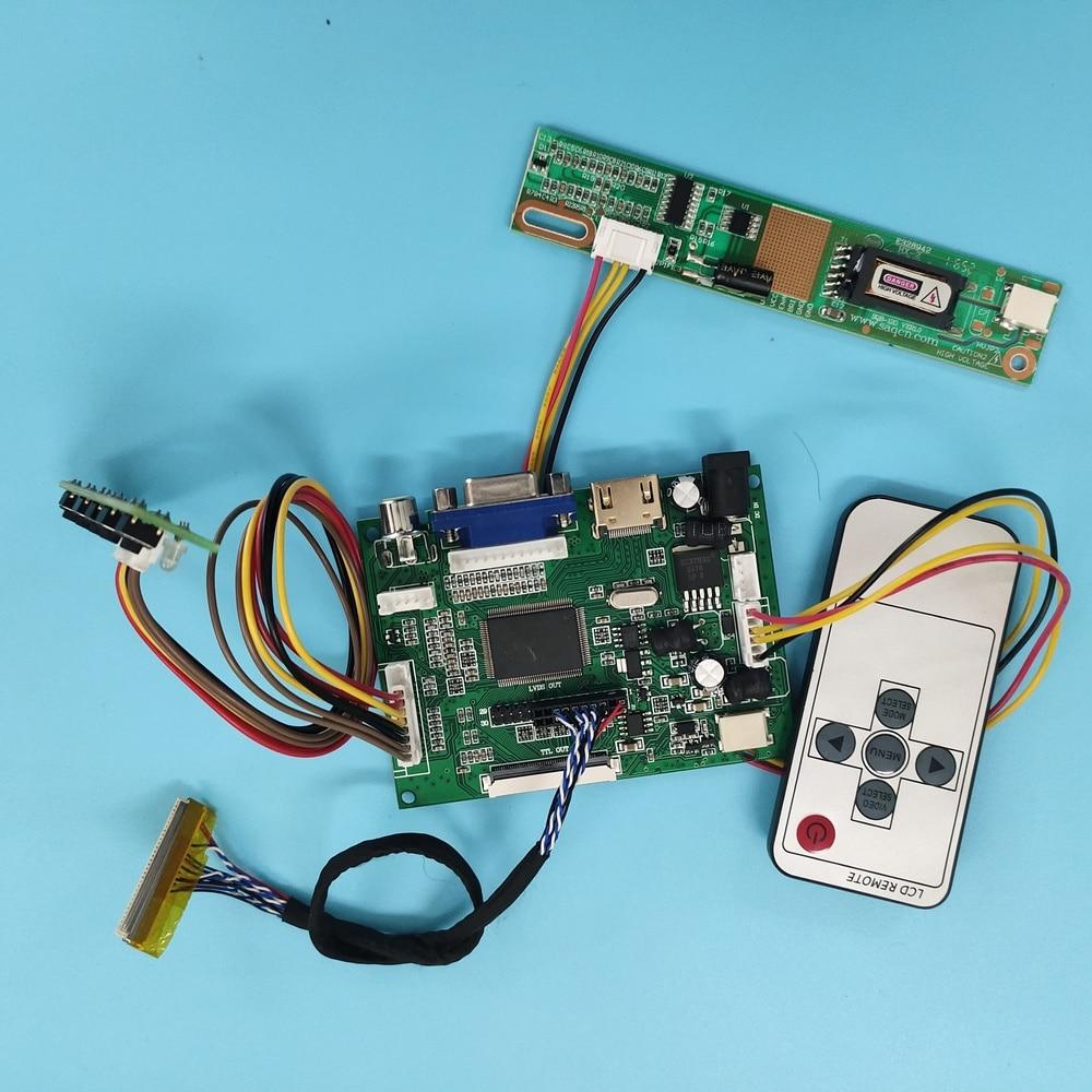 لوحة تحكم شاشة LCD مع AV ، متوافق مع VGA ، 30pin ، 2AV ، LTN170WX ، 1440X900