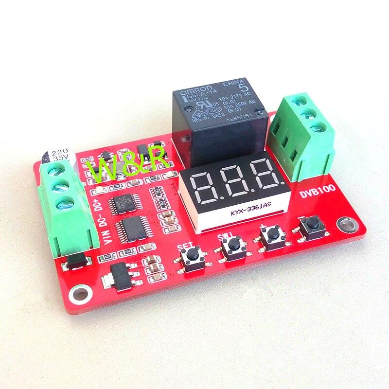 DVB100/comparateur de tension numérique   0-100V, mesure de tension/charge/décharge/surtension, protection contre les surcharges