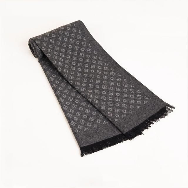 2020 Luxury Brand Design Men Scarf Foulard Cashmere Scarves  Winter Warm Neckerchief Scarfs Shawls Wraps Male Bufandas Hombre