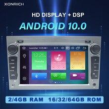 2 Din Android 10 Auto Radio Geen Dvdplayer Voor Opel Vectra C Zafira B Corsa D C Astra H G J Vivaro Meriva Multimedia Gps Navigatie