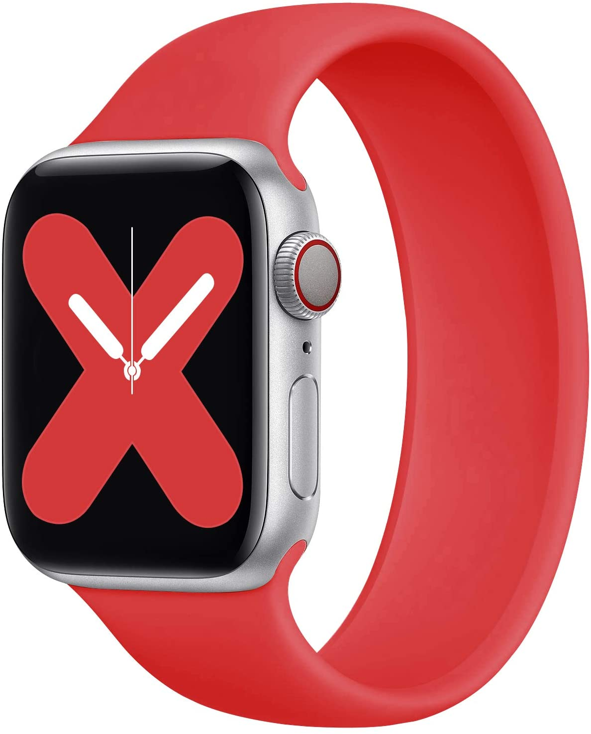 Solo Loop bracelet Strap for Apple Watch 5 Band 40mm 44mm iWatch serie 4/5/6/SE Elastic Belt Silicone for iwatch band 42mm 38mm