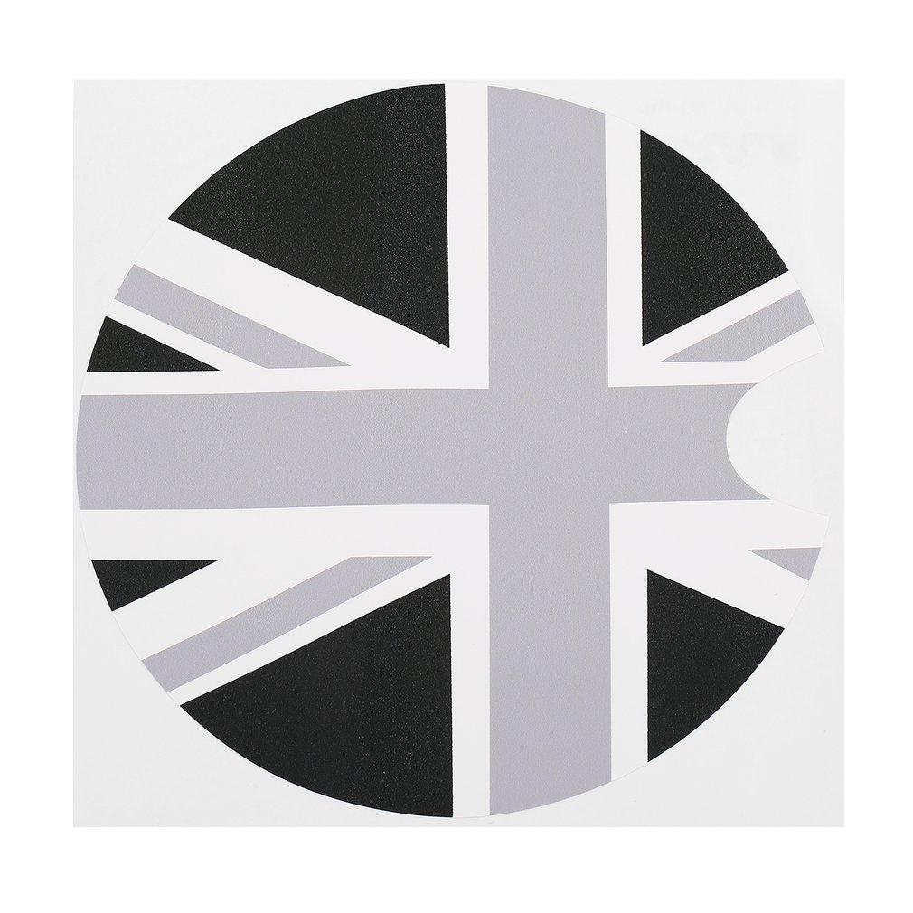 New 2017 Tirol 1PC 180*180mm PVC Mini Car Petrol Diesel Fuel Tank Cap Gas Cover Vinyl Sticker Decal British UK Flag