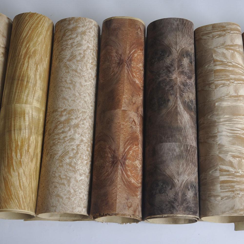 غرينلاند ورق الحرف الجوز Burl البني الخشب القشرة الجدول الأرضيات الأثاث المواد الطبيعية قارب التزيين الغيتار
