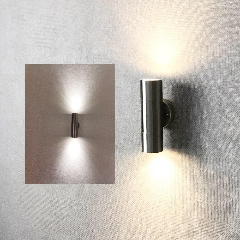 في الهواء الطلق وحدة إضاءة LED جداريّة ضوء مصباح الشرفة مقاوم للماء lamvillage Tuin الديكور بهو الشمعدان شرفة إضاءة ديكورية