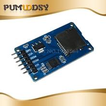 5 piezas Micro SD tarjeta de expansión de almacenamiento Micro SD TF tarjeta de memoria Shield módulo SPI para promoción Arduino