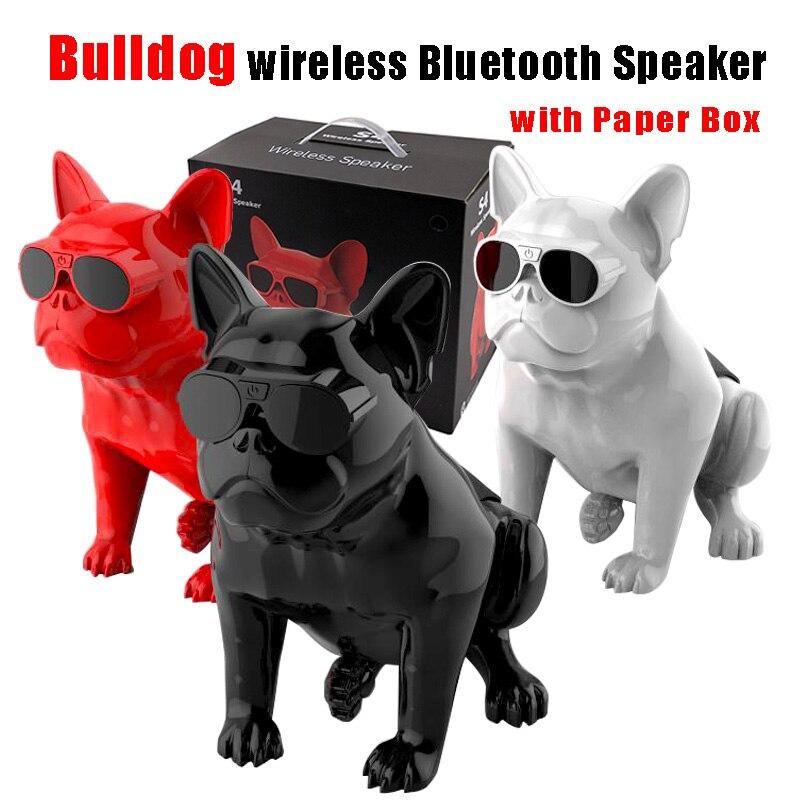 Altavoz Bluetooth inalámbrico, altavoz Bulldog, Subwoofer, altavoces multiusos para ordenador, bajos HIFI portátiles
