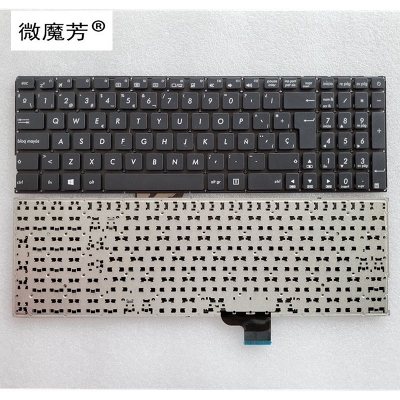 Sp Spaanse Keyboard Voor Asus UX510U UX510 V510UX UX510UA V510UX7200 UX510UW U5000u U5000uq Laptop