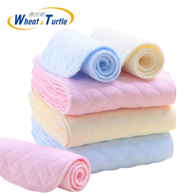Mother Kids Diapering Toilet Training Diapering Nappy Liners 5Pcs/Lot Baby Care Baby Nappies Reusabl