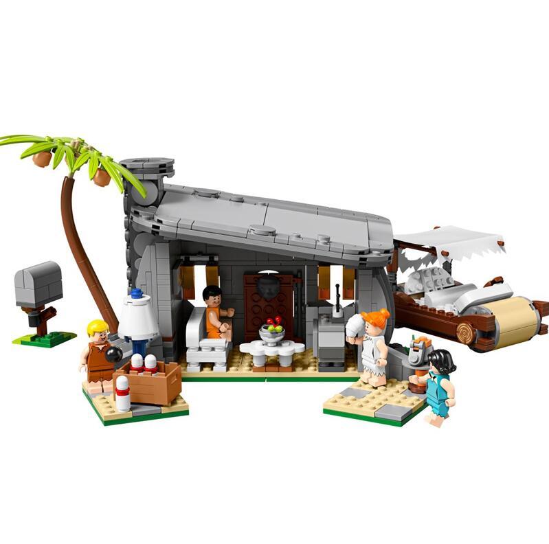 Creador 51001 Serie de películas Compatible con Lepining 21316 Flintstone personas Set modelo bloques de construcción juguetes para niños regalos de navidad