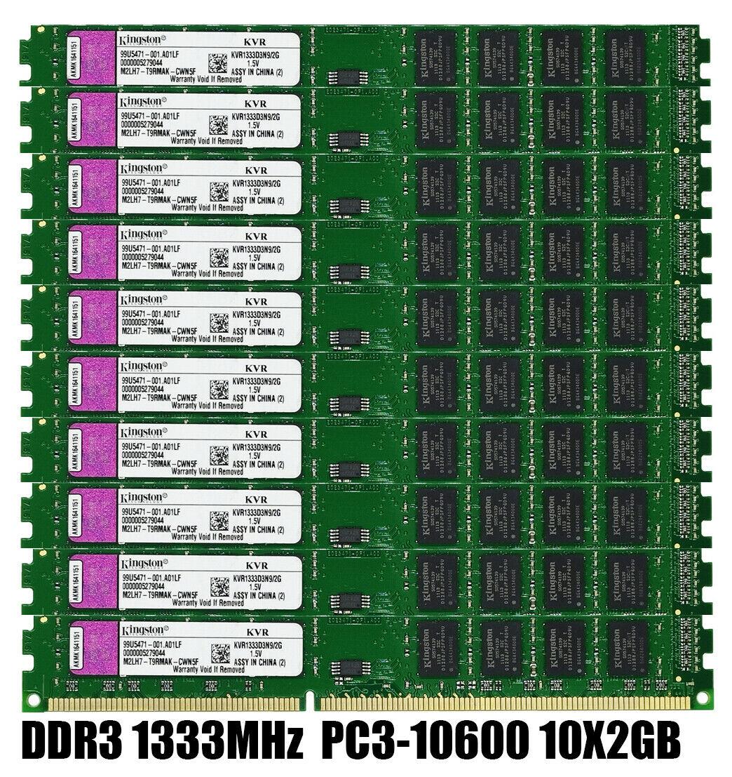10 шт. 2 Гб ddr3 1333 МГц pc3 10600u Настольный Память DIMM 240 pin Оперативная память 1,5 v без кода коррекции ошибок Оперативная память      АлиЭкспресс
