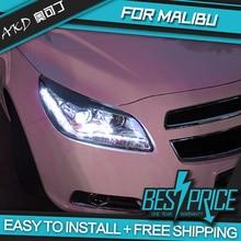 AKD phares de style Chevrolet Malibu   Voitures, phares 2012-2014, phares de course, feux roulants, bi-xénon, brouillard, angel eyes, Auto