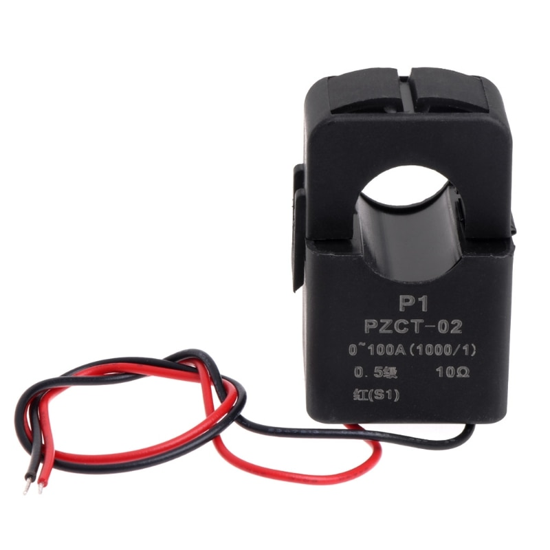 AC 0-100A Current Transformer Coil 100mA Output For AC Voltmeter Ammeter Accessories