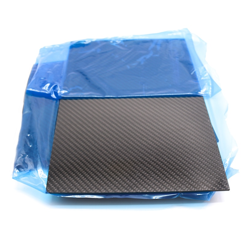 TCMMRC 3K Matte Surface Twill Carbon Plate Panel Sheets High Composite Hardness Material Anti-UV Carbon Fiber Board 200X300 mm enlarge
