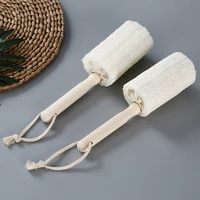 towel gourd cup brush hanging creative towel gourd pulp wooden hand cup brush household oilfree kitchen tableware cleaning brush