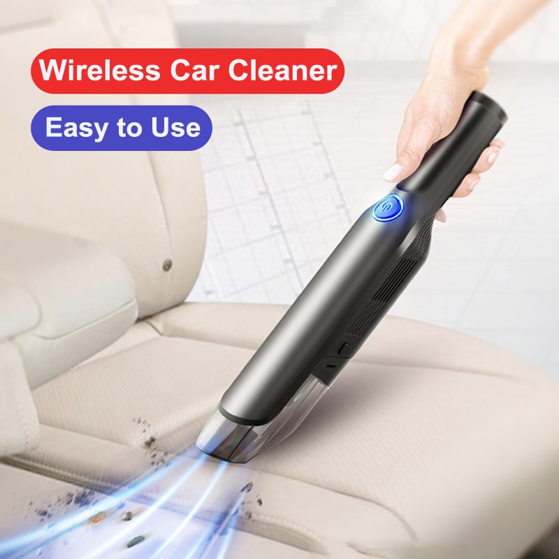Oppselve Handheld Wireless Vacuum Powerful Cyclone Suction Rechargeable Car Vacuum Cleaner Wet Dry Auto Portable for Car Home PC handheld wireless car vacuum cleaner rechargeable household car vacuum cleaner portable mini vacuum strong suction