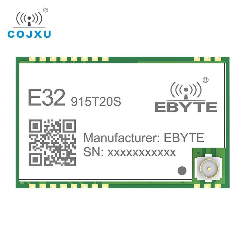 10Pcs/lot LoRa 915MHZ SX1276 Wireless Module 20dBm TTL SMD Long Range 3km Data Transmission Transceiver E32-915T20S