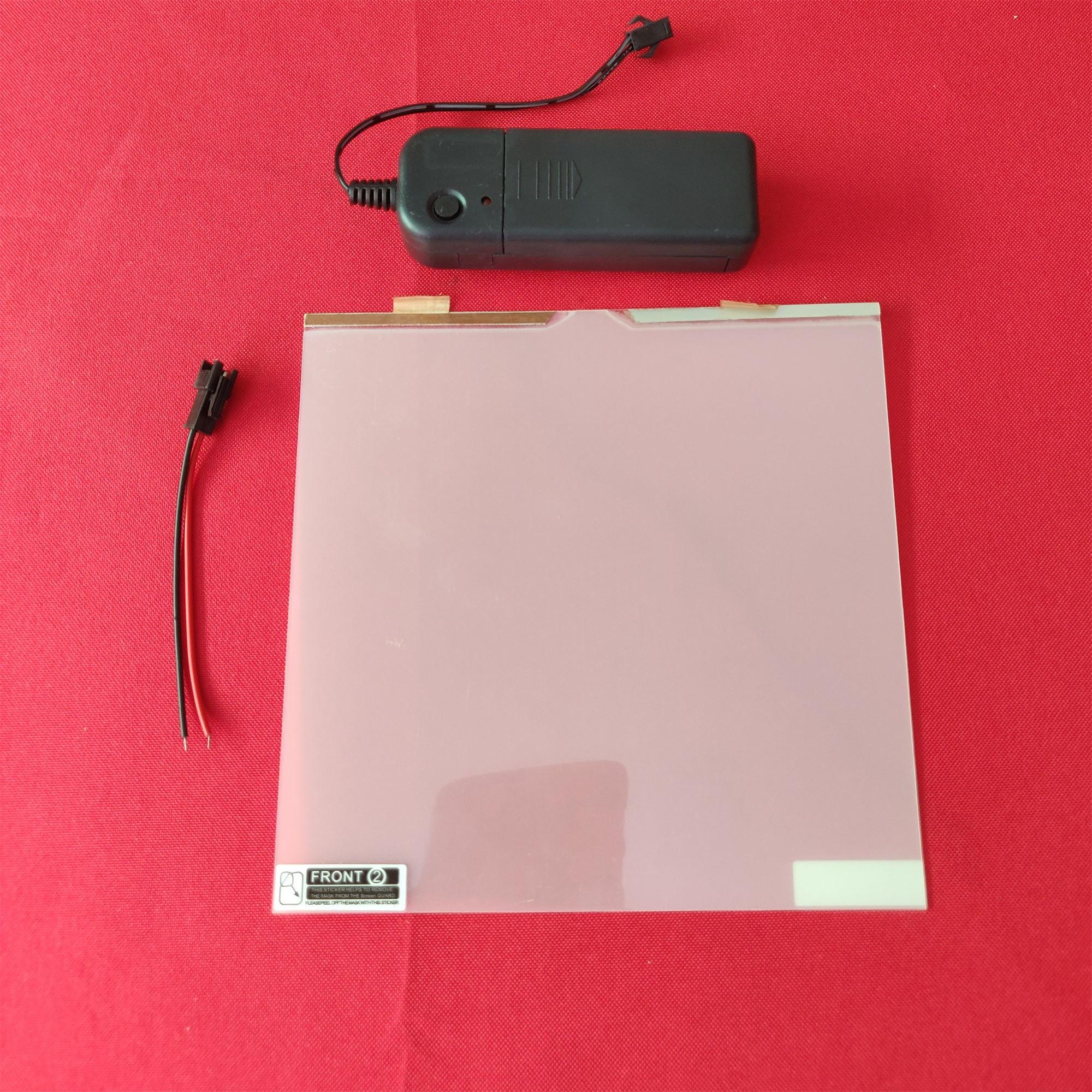 "5.9""X5.9""/15x15cm sample Electric Self-adhesive PDLC Film Smart dimming film Window Door Tint home cinema meeting room"