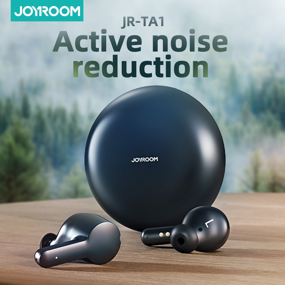 Joyroom TA1 Active Noise Cancelling TWS Wireless Earphone Earbuds ANC On/ Off Mode 35dB ANC Depth Fe