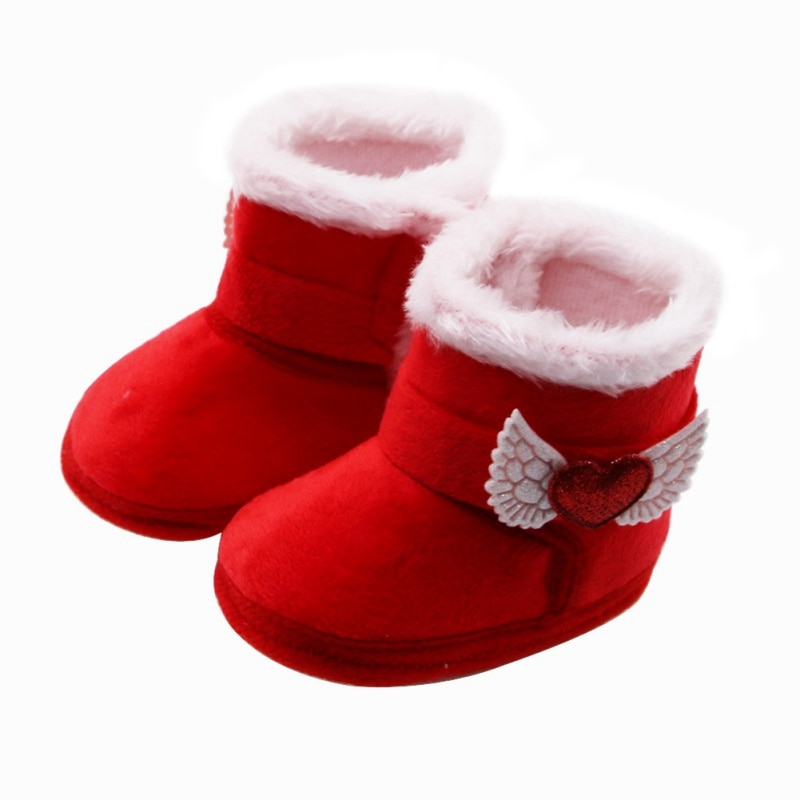Baby Girls Boys Winter Warm Christmas Shoes First Walkers Sneakers Infant Kids Crib Toddler Footwear Boots Newborns Snow Booties boots tiflani 10924830 baby shoes footwear of boys and girls for kids