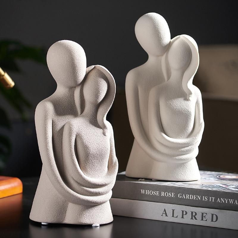 Статуэтки, скульптура, Скандинавская современная абстрактная скульптура, украшения ручной работы, домашняя коллекция, скульптура ручной р...