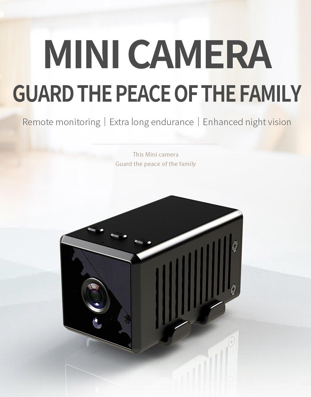 HD 1080P Mini Camera Sensor Night Vision Camcorder Motion DVR Micro Camera Sport DV Video small Portable Wireless  Camera