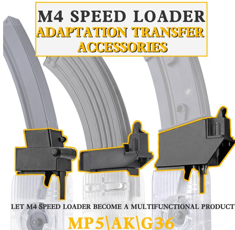 Soporte táctico M4 accesorios de cargador de velocidad inventario AK adaptador de Vector para AK G36 MP5