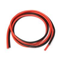 1 метр черный + 1 метр Красный силиконовый провод 14AWG 16AWG 18AWG 20AWG 22AWG 24AWG 26AWG термостойкий мягкий силиконовый кабель из силикагеля